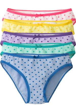 Bpc Bonprix Collection Kız Çocuk Yeşil Slip (5'Li Paket)
