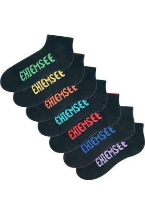 Chiemsee Kadın Siyah Chiemsee Spor Çorabı (7'Li Pakette)