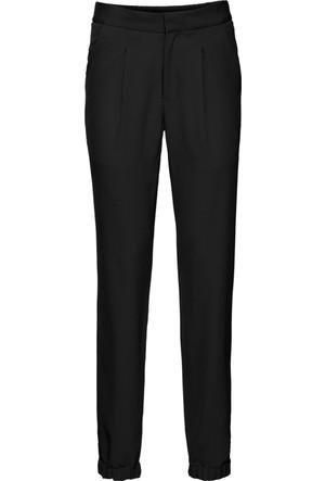 Bodyflirt Kadın Siyah Beli Lastikli Pantolon
