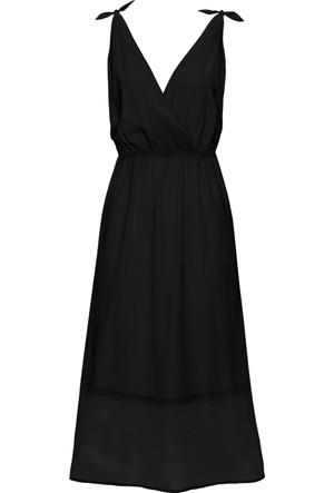 Bodyflirt Kadın Siyah Şifon Elbise