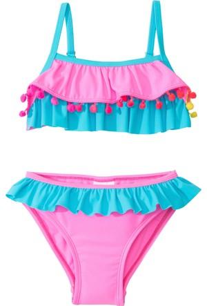 Bpc Bonprix Collection Kız Çocuk Pembe Çocuk Bikini (2Li Takım)