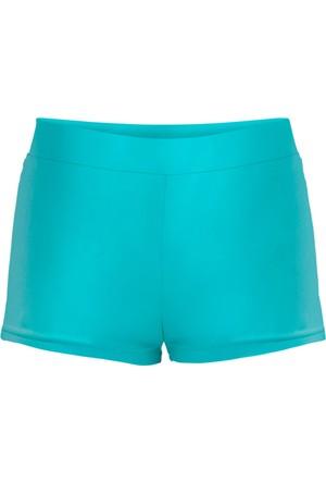 Bpc Bonprix Collection Kadın Erkek Çocuk Mavi Deniz Şortu
