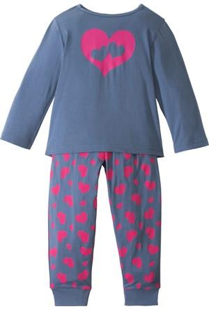 Bpc Bonprix Collection Kız Çocuk Mavi Pijama (2Li Takım)