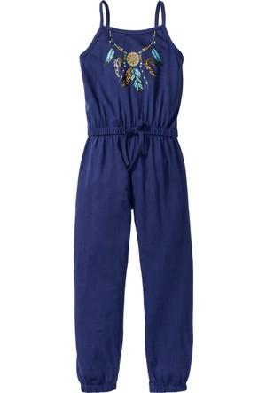Bpc Bonprix Collection Kız Çocuk Mavi Tulum