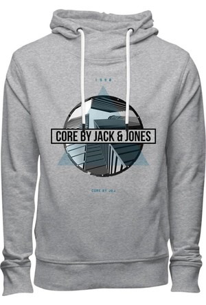 Jack & Jones Sweat Jcomarker Hood 12127590-Lgm
