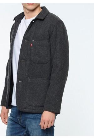 Levi's Erkek Mont Wool Engineers Coat 27683-0001