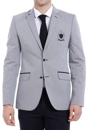 Wessi Göğüs Nakışlı Modelli Ceket