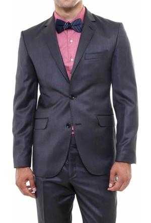 Wss Wessi Regular Fit Melanjlı Kumaş Takım Elbise