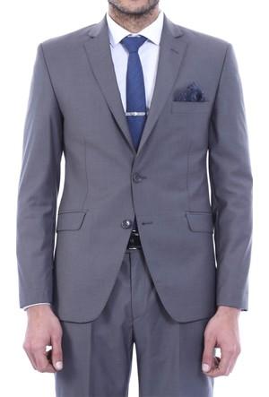 Wessi İki Düğme Slimfit Poliviskon Takım Elbise