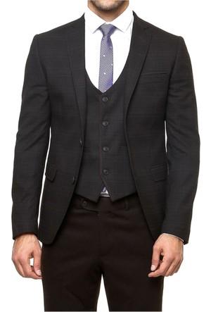 Wss Wessi Ekose Yelekli Poliviskon Takım Elbise