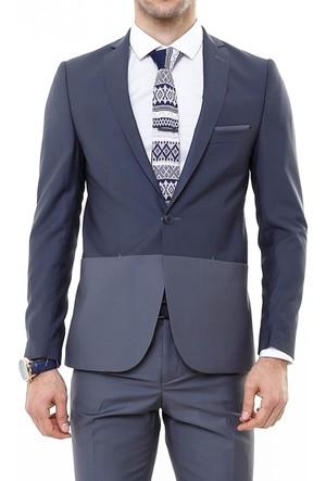 Wss Wessi Çift Renk Slim Fit Takım Elbise