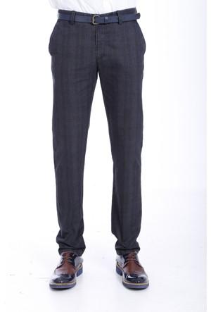 Wessi Cep Kapaklı Siyah Pamuk Pantolon