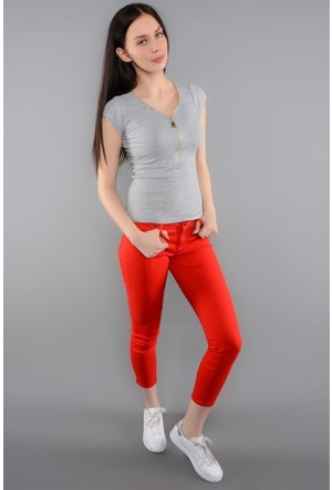Rodin Hills Kırmızı Droplu Pantolon 1660 155 1 71018