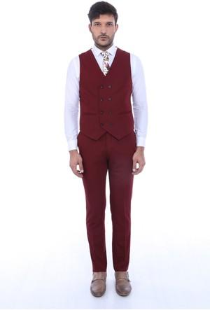 Wessi Geniş Yaka Yelekli Takım Elbise