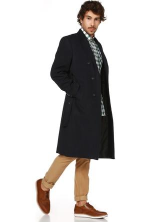 Dewberry P8316 Lacivert Erkek Palto