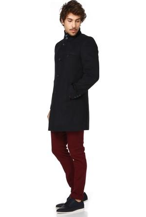 Dewberry P8318 Lacivert Erkek Palto