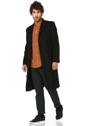 Dewberry P8316 Siyah Erkek Palto