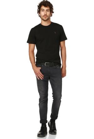 Dewberry T8536 Siyah Erkek T-Shirt