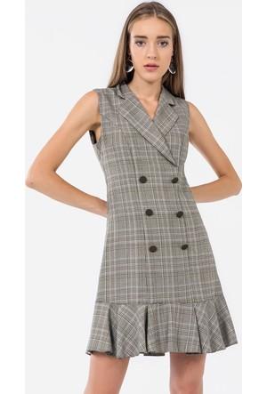 İroni Kadın Elbise 5016