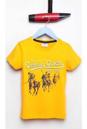 U.S. Polo Assn. Erkek Çocuk Borja T-Shirt Sarı
