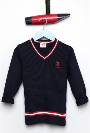 U.S. Polo Assn. Erkek Çocuk Bts01Sk7 Kazak Lacivert