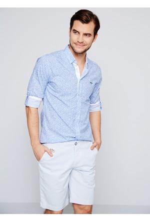 U.S. Polo Assn. Erkek Boswel Gömlek Mavi