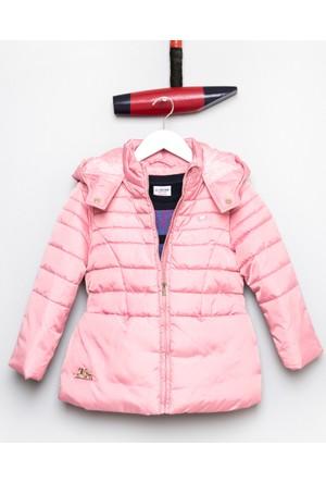 U.S. Polo Assn. Kız Çocuk Chicak17 Mont Pembe