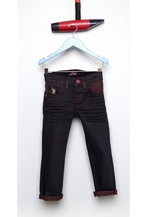 U.S. Polo Assn. Erkek Çocuk Parkerkids7S-Plum Pantolon Kırmızı