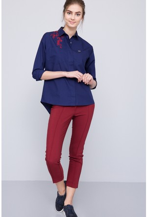 U.S. Polo Assn. Kadın Dolce Pantolon Kırmızı