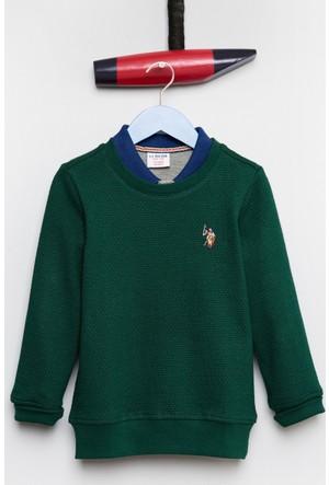 U.S. Polo Assn. Erkek Çocuk Darsykids Sweatshirt Yeşil