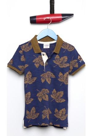 U.S. Polo Assn. Erkek Çocuk Porter T-Shirt Lacivert