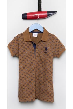 U.S. Polo Assn. Erkek Çocuk Stark T-Shirt Kahverengi