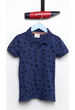 U.S. Polo Assn. Erkek Çocuk Taco T-Shirt Lacivert