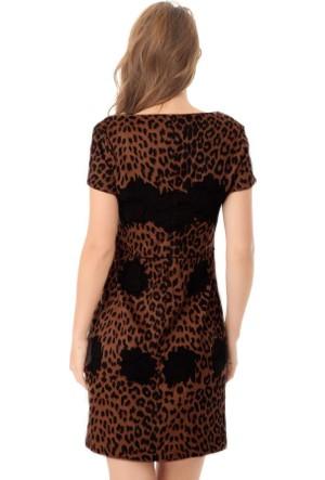 Serpil 14K0417749 Kahverengi Elbise