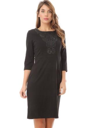 Serpil 14K0418270 Siyah Elbise