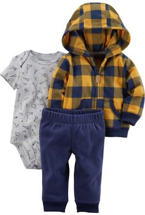 Carter's Erkek Bebek 3'lü Set-Cs 121H659