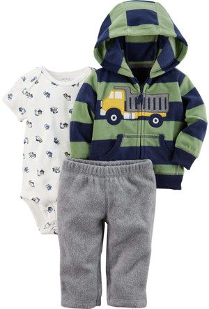 Carter's Erkek Bebek 3'lü Set-Cs 121H660