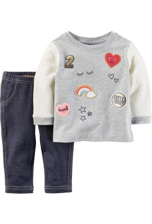 Carter's Kız Bebek 2li Set-PW 239G478