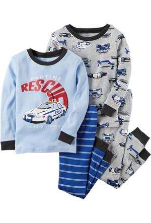 Carter's Erkek Çocuk 4'lü Pijama 341G449