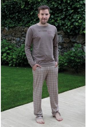 Hays Men Penye 2'li Uzun Pijama Takımı