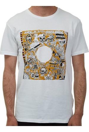 Volcom Record Bsc White Tişört