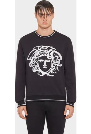 Guice Paris Versace Paınted Effect Medusa Model Erkek Sweatshırt