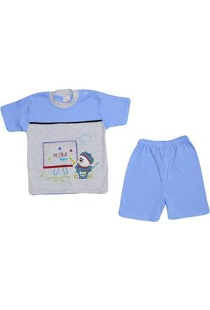 Aytini 402 Bebe Takımı Mavi