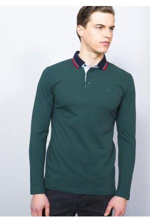 Adze Hunter Erkek Polo Yaka SweaTshirt