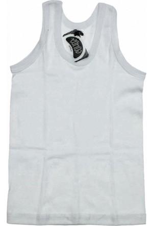 Gümüş 3023 Ribana Askılı Atlet Beyaz
