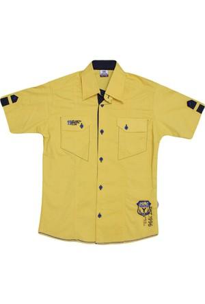 Polat P-8408 Erkek Gömlek Sarı