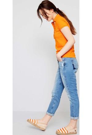 U.S. Polo Assn. Tp01İy07-011 T-Shirt Şeftali