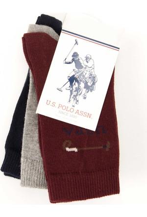 U.S. Polo Assn. Erkek Çocuk Ec01Sk7 Çorap