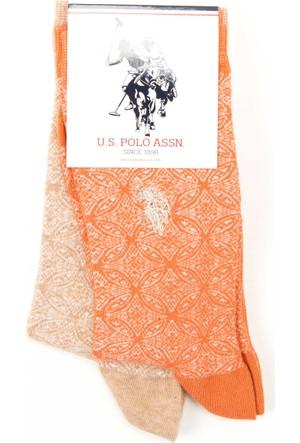U.S. Polo Assn. Kadın Pesy Çorap