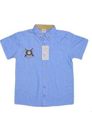 Benics B-722-1 Nope Gömlek Mavi
